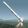 Sea ceptor missile 3D animation and advanced 3D rigging