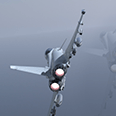 Animated CGI product video of Typhoon delivering missile system