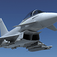 3D animation of Typhoon for aerospace